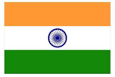 indian falg using CSS Html