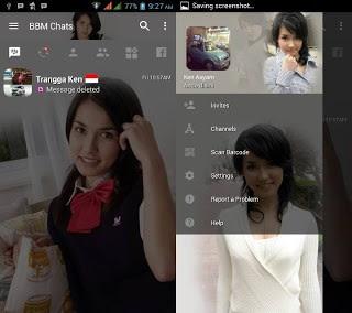 Download BBM MOD Maria Ozawa v3.2.0.6 APK Transparan Terbaru