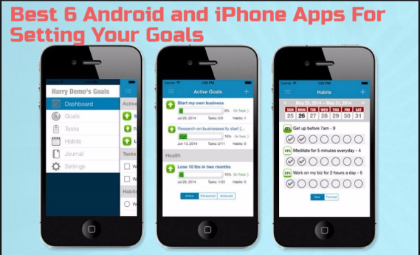 We can never seem to have enough productivity tools, can we? Now largely thanks to the mobile web, anyone with a smartphone or tablet can download a free goal setting app to help them stay accountable and on track with their habits almost anywhere they go. If you struggle with maintaining enough self-discipline all on your own to stick to your goals, a goal setting app might really help. Here are just a few to consider trying out. #1 Habitica    Best Goal Settaing Apps for Android And iPhone Best Goal Setting Apps for Android And iPhone Gamify Your Tasks: The app has all the features that could help to make your habit of remaining attached to the work that you will set on the app. You will be motivated by providing of rewards and some tasks that will help you reach the destination easily. Utilize it and you will know about that! #2 Productive    Best Goal Settaing Apps for Android And iPhone Best Goal Setting Apps for Android And iPhone Habit Tracker & Goals Reminder: This is another app similar to the above app and you have to note that this app will also support you reach your set up task but through some other ways. Actually, the trick here is the motivation only and some joyful tasks that make you addicted towards your work. #3 Strides    Best Goal Setting Apps for Android And iPhone Best Goal Setting Apps for Android And iPhone Habit Tracker for Daily & Life Goals: Strides track your behavior for the all day and you would be given the task based on that which will, in turn, make you transform your behavior and also direct to the goal you would be set inside the app. Simply it is real potential to provide with the reminders and some force to enable users to retrieve their goals. #4 HabitHub Habit and Goal Tracker    Best Goal Setting Apps for Android And iPhone Best Goal Setting Apps for Android And iPhone Another goal tracking app that has the motive to push the user towards the goal that he or she has set inside the app and even in the life. It is the app whic