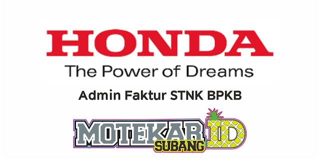 Info Lowongan Kerja Honda Mugen Maret 2021