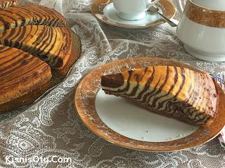 Zebra Kek Tarifi, Kek tarifleri, Kolay, Pratik, Nefis, Kişniş, Çay, Tatlı
