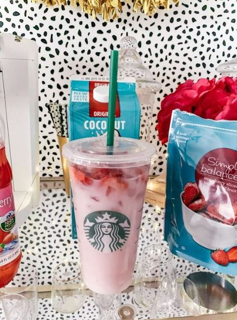 DIY Pink Drink Recipe Starbucks