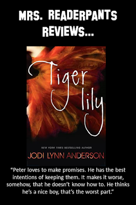 This is a beautifully-written romance between Peter Pan and Tiger Lily. Great for teens who love retellings.