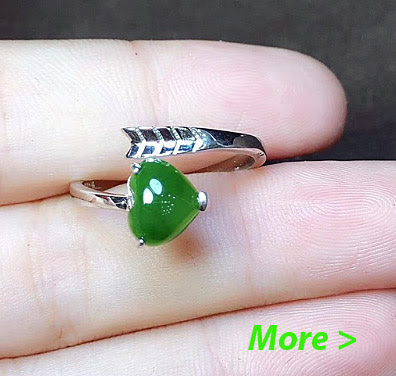 jade engagement ring