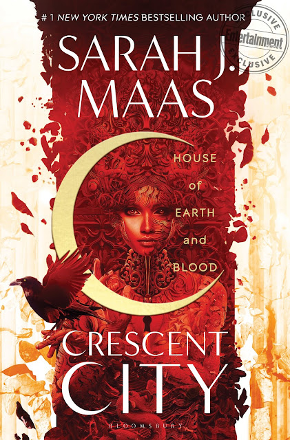 Sarah J. Maas Crescent City House of Earth and Blood borító