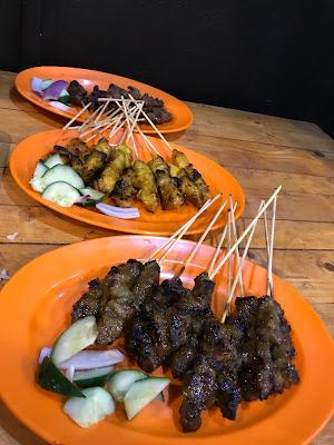 makan mana, makan sedap, penang, makan sedap seberang perai, char kuey teow kambing, kambing panggang, kambing sedap,