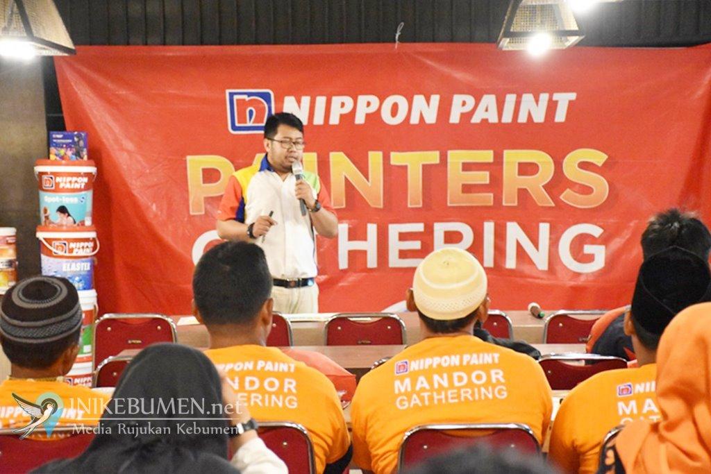 Puluhan Tukang Cat Mitra Toko Sumber Warna, Ikuti Nippon Painters Gathering