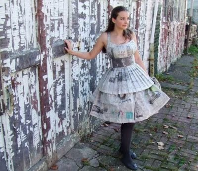 Cara Membuat Baju Dari Koran Bekas Yang Mudah Model Baju Trend 2019