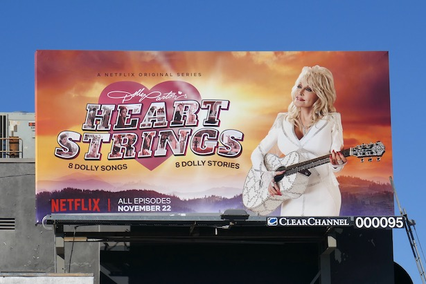 Dolly Parton Heart Strings series billboard