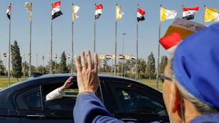 Hari Kedua di Irak, Paus Fransiskus Bertemu tokoh  Syiah Sistani