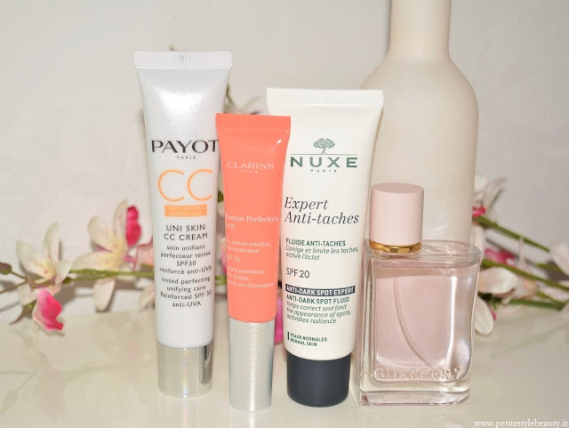 Beauty and Fashion Essentials for Summer allbeauty payot clarins nuxe burberry