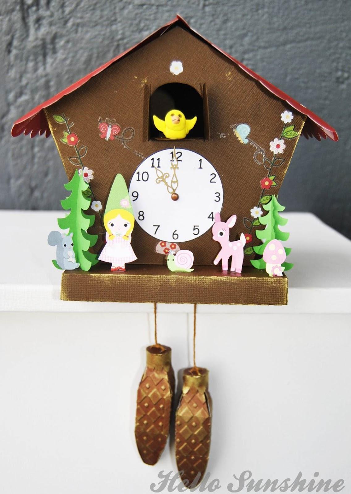 Hello Sunshine Cuckoo Clock