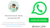 UPI ON WHATSAPP PAYMENT FUNCTION
