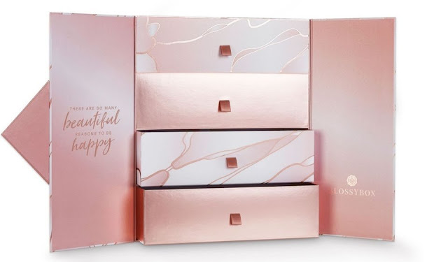Glossybox Beauty Advent Calendar - Content Reveal