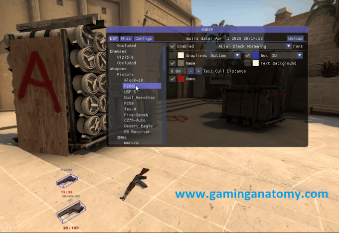 Csgo Esp hack, Go ESP, Legit mod menu, [New Update]