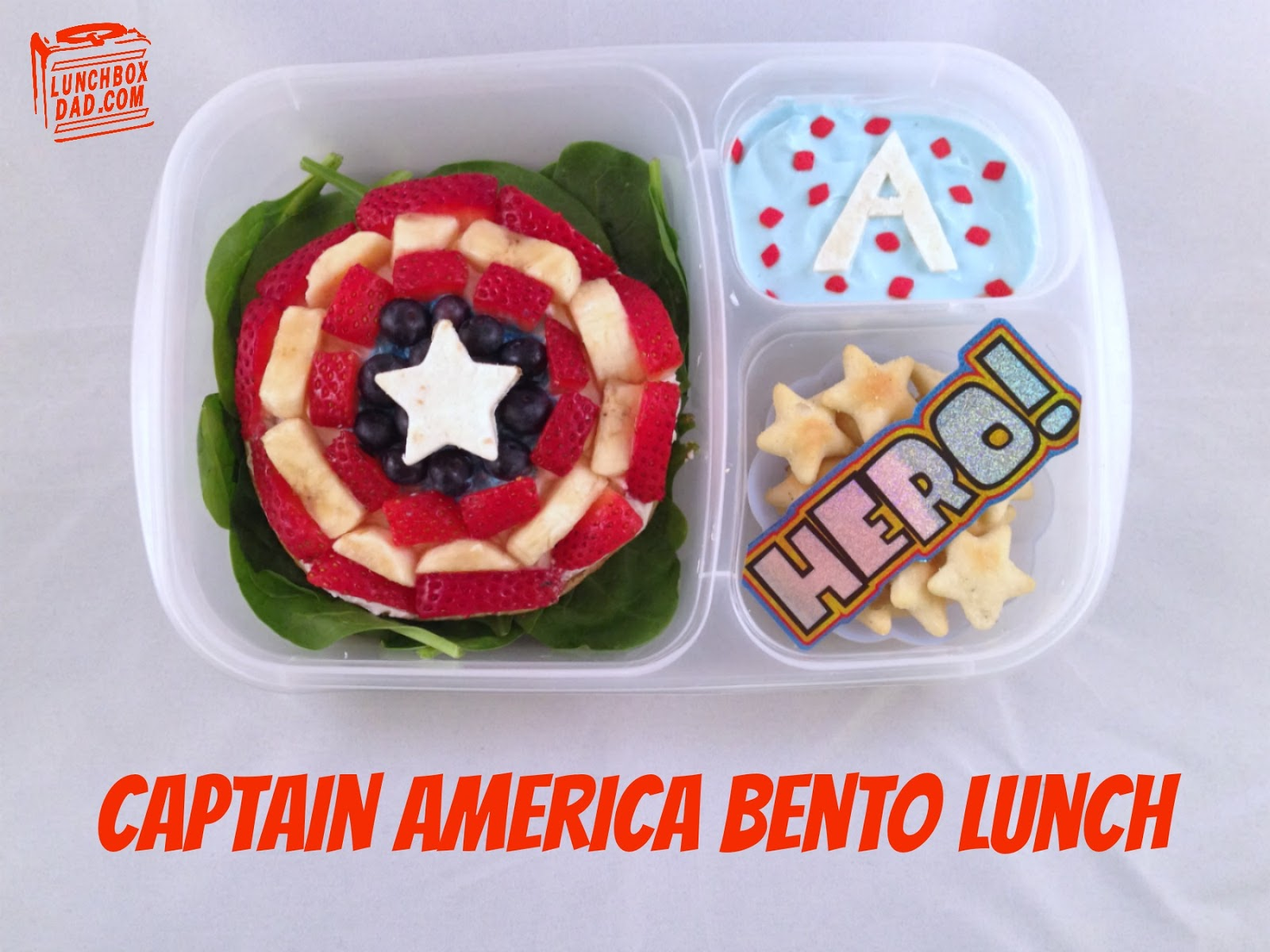 Captain America Bento Lunch