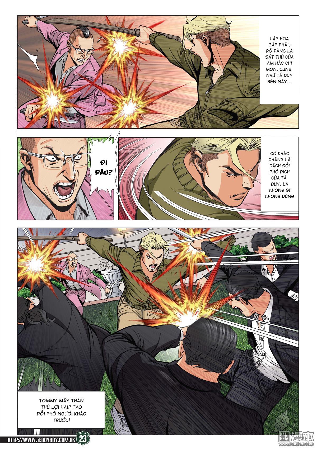 Người Trong Giang Hồ RAW chap 2070 - Trang 22
