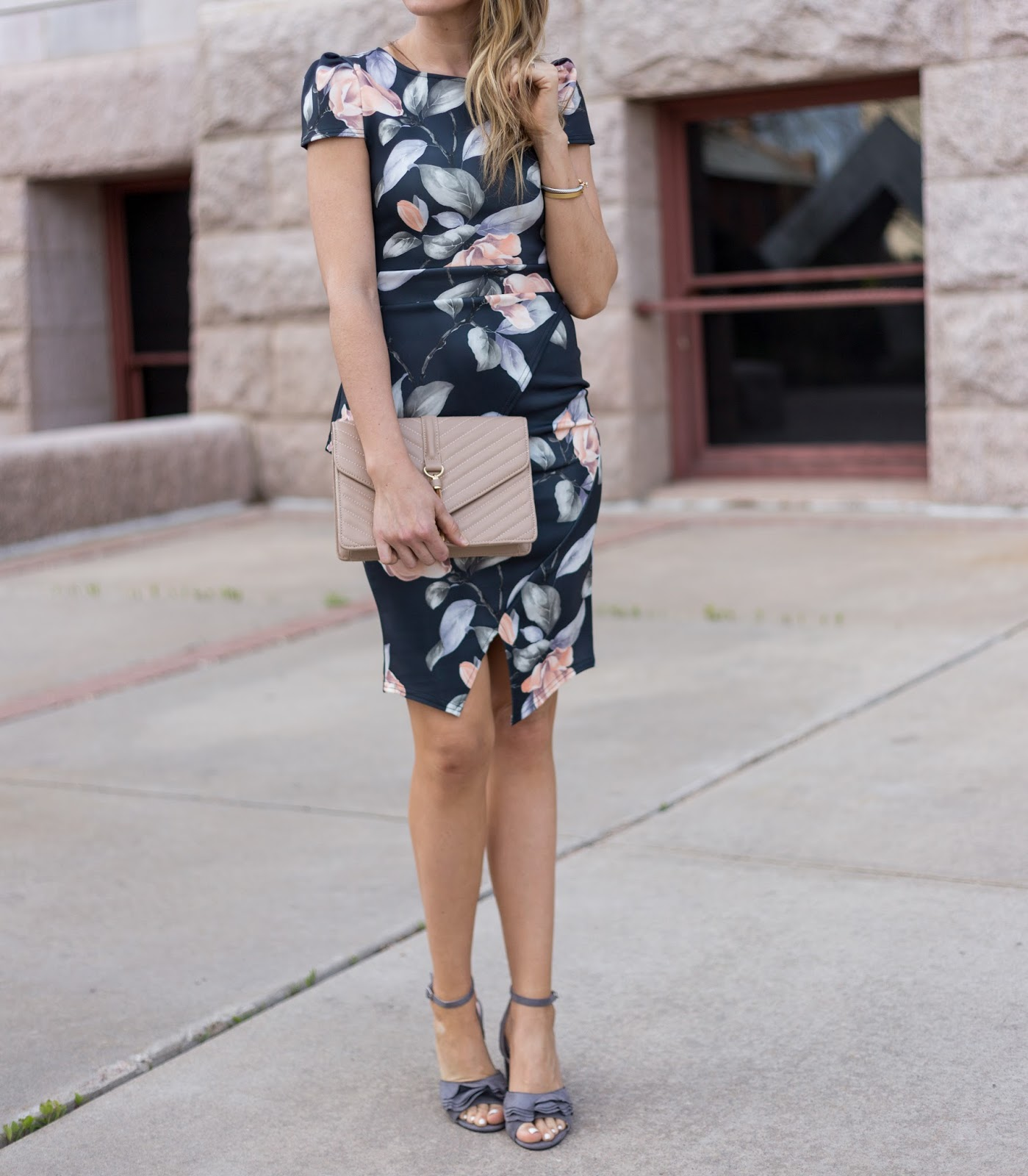 The perfect spring wedding guest dress!!