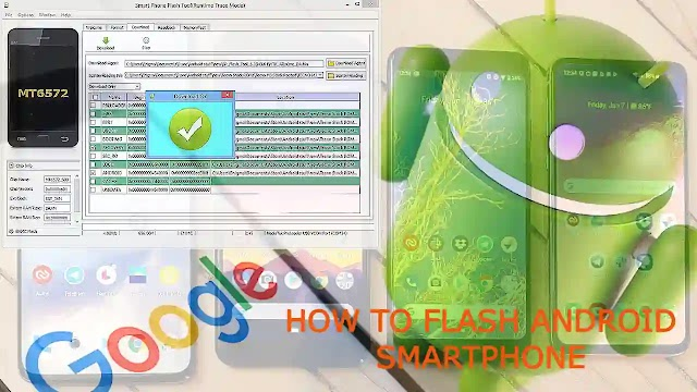 How to flash android smartphone.