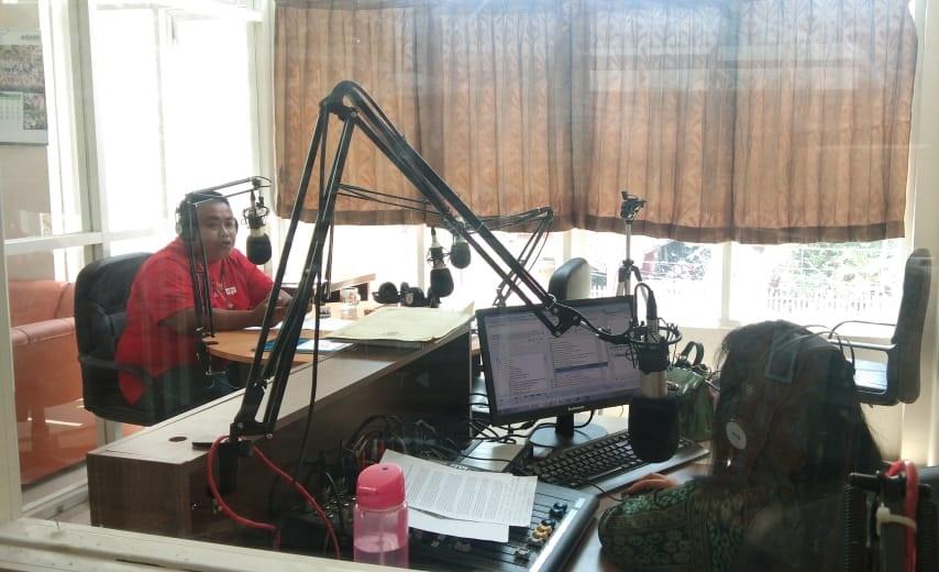 SFCom Bojonegoro Menyapa di Radio Malowopati 95.8 FM