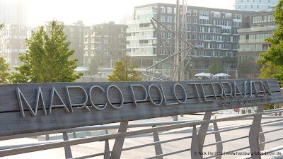 Marco Polo Terrassen in der Hamburger Hafencity