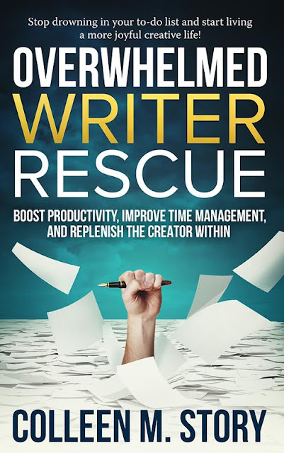 Overwhelmed Writer Rescue by Colleen M. Story (Review, Author Interview & Giveaway!)