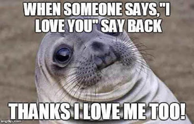 funny memes about love with water animal