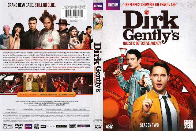 Dirk Gently's Holistic Detective Agency Season 2 DVD Cover