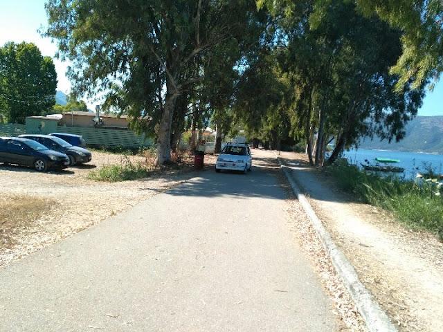 Θεσπρωτία: Ηγουμενίτσα: Συνεχίζουν τα ΙΧ να κόβουν βόλτες στον ποδηλατόδρομο (+ΦΩΤΟ)