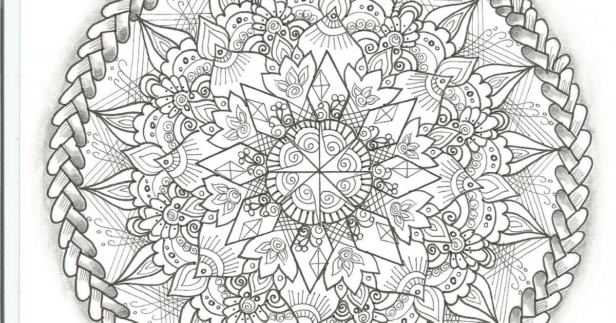 Desenhos Da Mandala Para Colorir Desenhos Para T