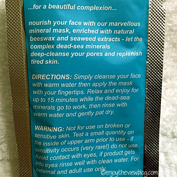 Que Bella® Replenishing Dead Sea Mud Mask