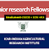 JRF recruitment -Indian Agricultural Research Institute -New Delhi