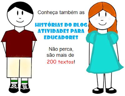 Propagando textos do blog ATIVIDADES PARA EDUCADORES