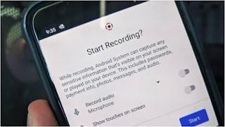 خطوات, تشغيل, واستخدام, ميزة, تسجيل, الشاشة, Screen ,Recording, على, Android11