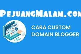 Cara Ubah Domain Blogspot Ke Domain TLD/GTLD