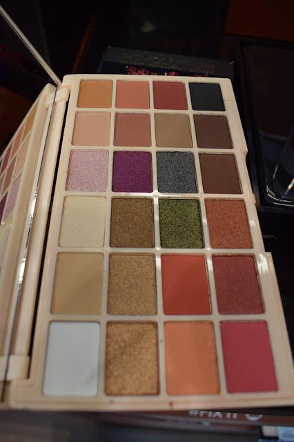 Make Up Revolution shop launch, Superdrug White Rose Leeds MUR Soph eyeshadow palette