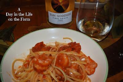Shrimp Fra Diovolo