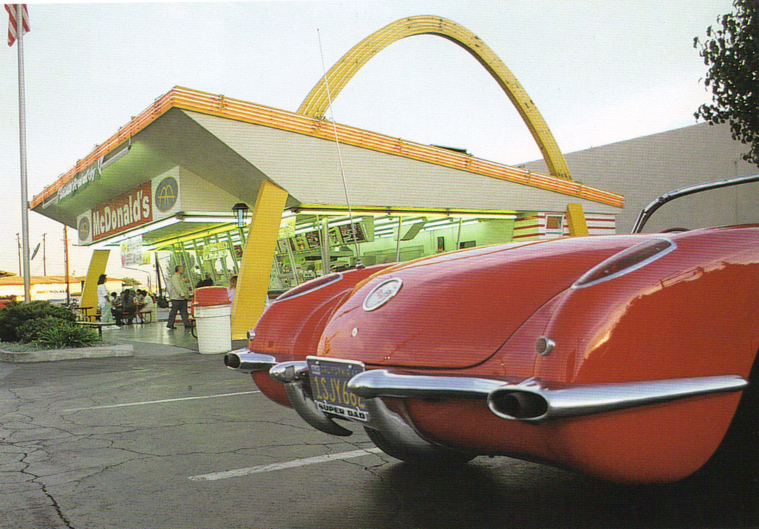 Alan Hess On Architecture The Oldest Mcdonald S As