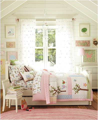 Vintage Girls Bedroom Ideas