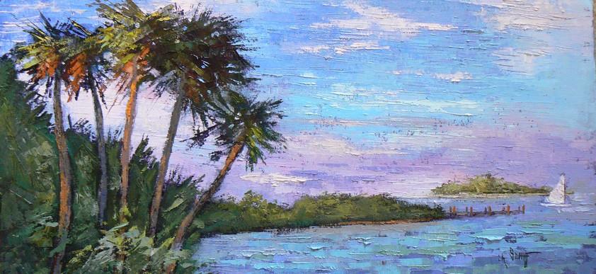 Tropical Bird Oil Paintings