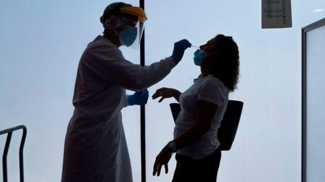 Habilitan en Santo Domingo Oeste cinco centros para toma de prueba del COVID-19