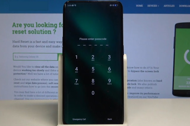 Oppo Find X PAFM00 Remove Screen Lock Pattern / Password With DownloadTools Via Online Remotely