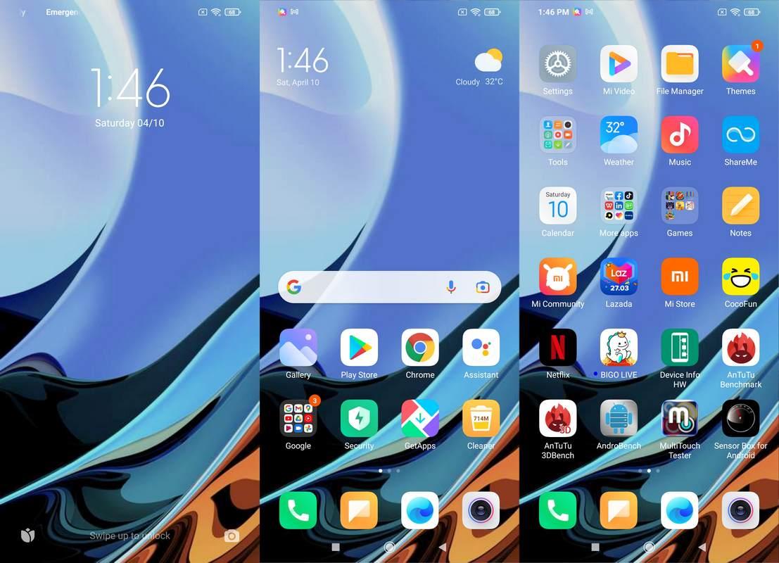 Software & Fitur Xiaomi Redmi 9T