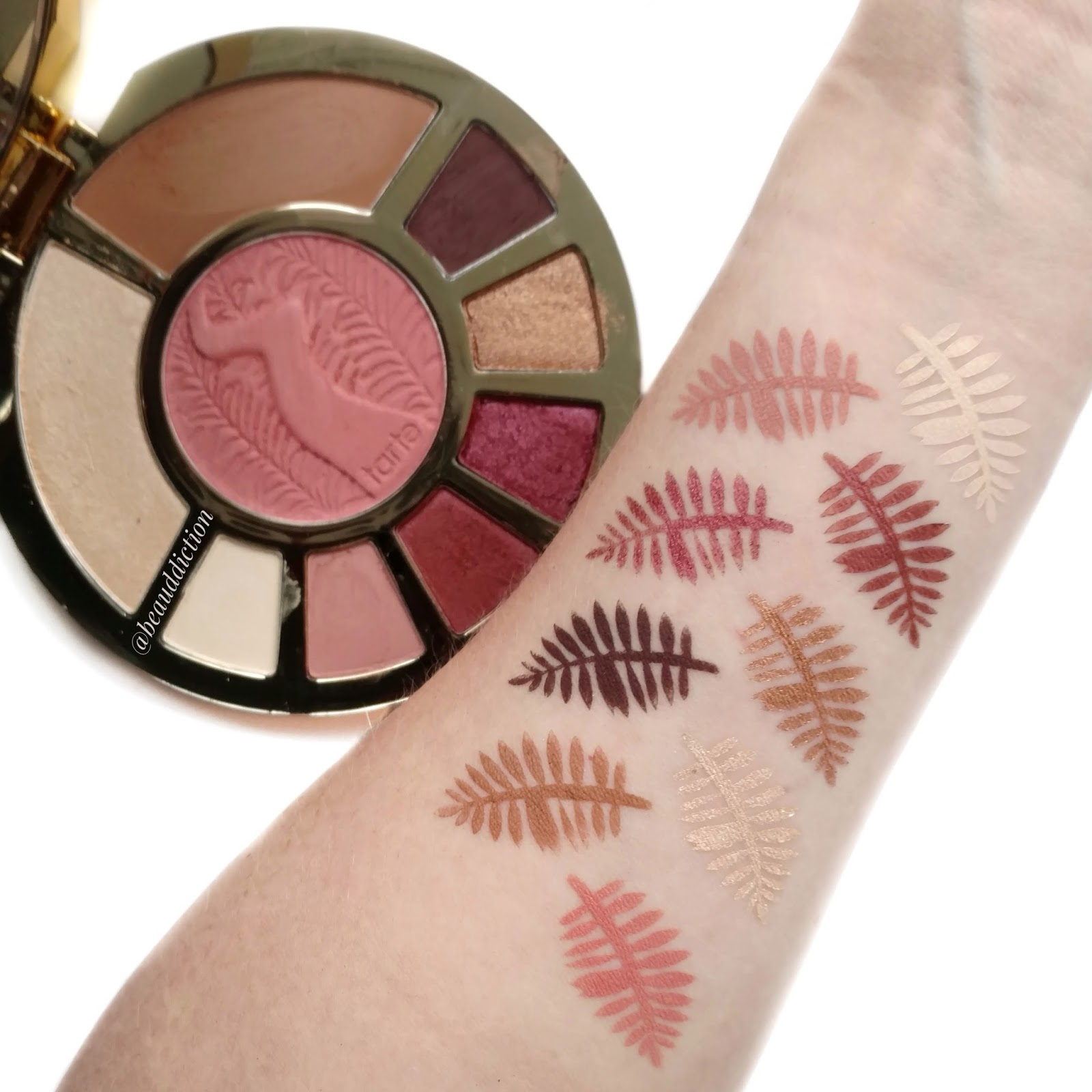 tarte ladies night swatches