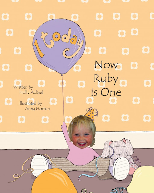 first birthday gifts, personalised book