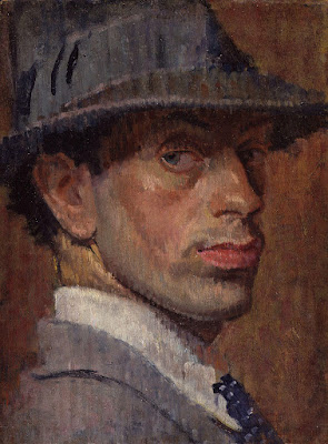 Self portrait (1915) by Isaac Rosenberg whose poetry is included in Ian Venables' Through These Pale Cold Days