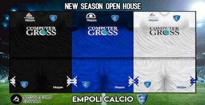 PES 6 Kits Empoli FC Season 2018/2019 by Alessandro