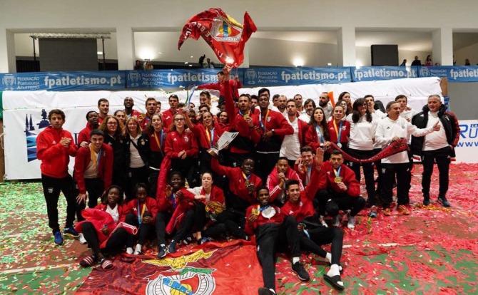 Blog Benfica campeão nacional de atletismo pista coberta