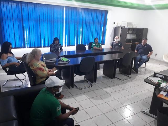 07/04/2020 - Reunião do Comitê de Combate ao Covid-19 em Rosário Oeste