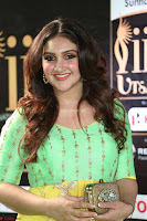 Sridevi Telugu Actressi in green Yellow Anarkali Dress at IIFA Utsavam Awards 036.JPG